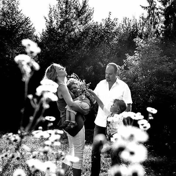 Familienshooting im Ebersberger Forst